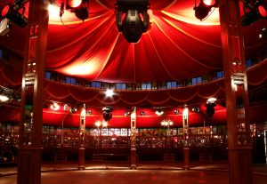 Docklands entertainment circus