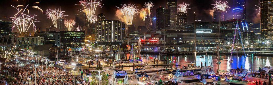 Australia Day Docklands Fireworks